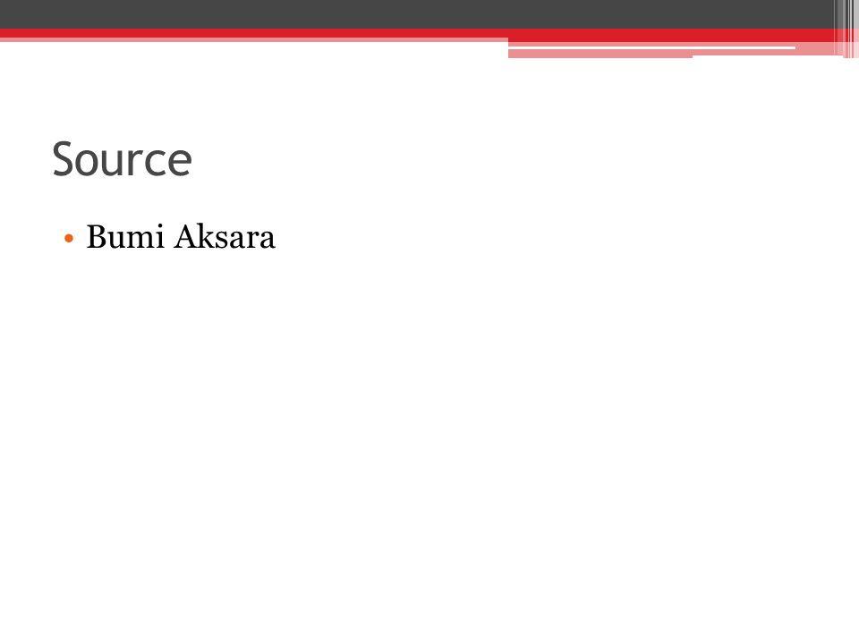 Source Bumi Aksara
