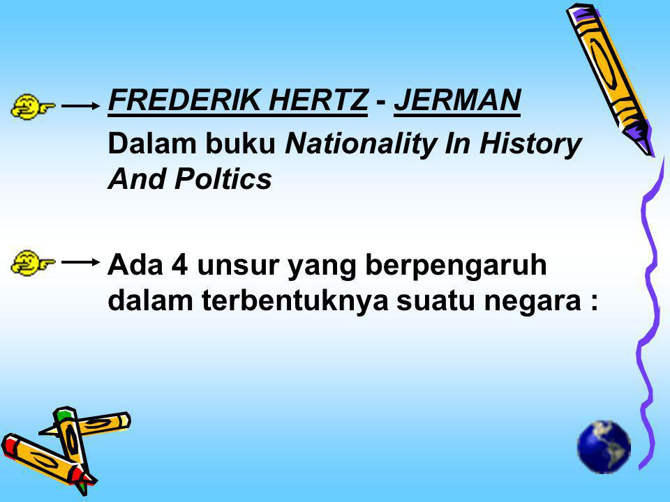 FREDERIK HERTZ - JERMAN
