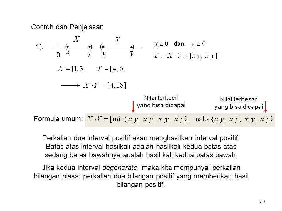 X Y Contoh dan Penjelasan ( ) x 1). Formula umum: