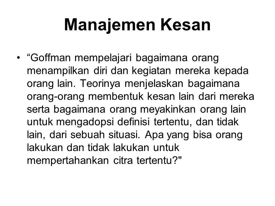 Manajemen Kesan