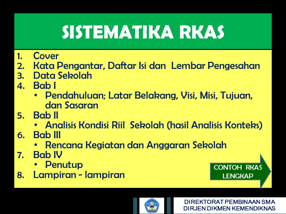 SISTEMATIKA RKAS Cover