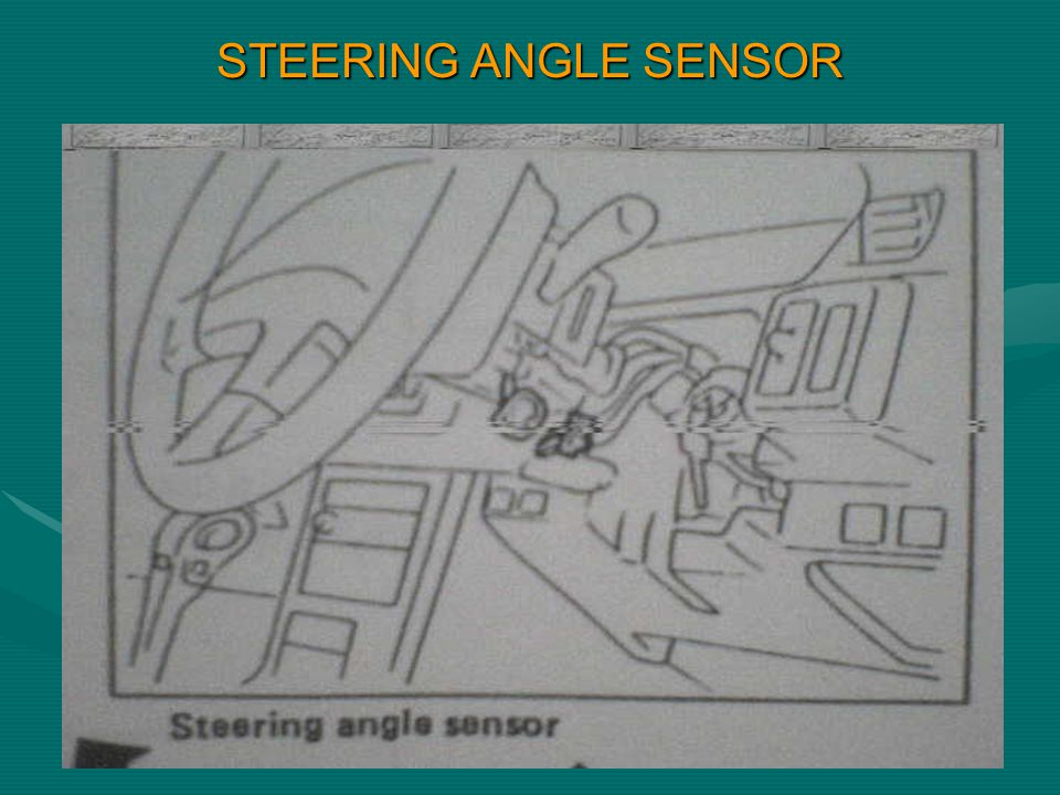 STEERING ANGLE SENSOR
