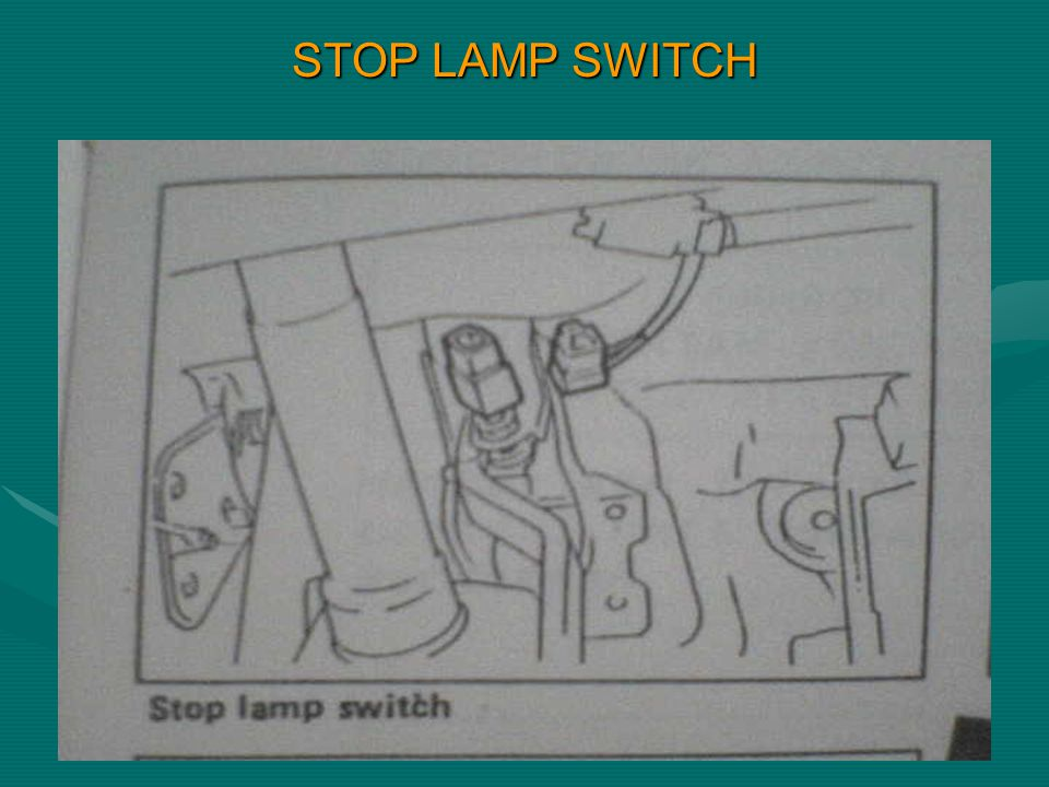 STOP LAMP SWITCH