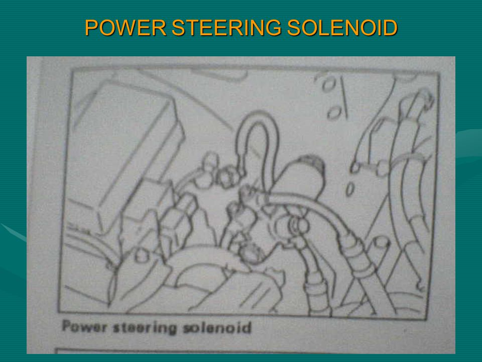 POWER STEERING SOLENOID
