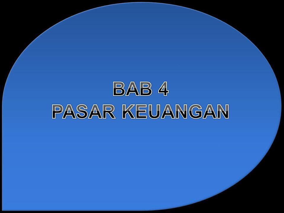 BAB 4 PASAR KEUANGAN