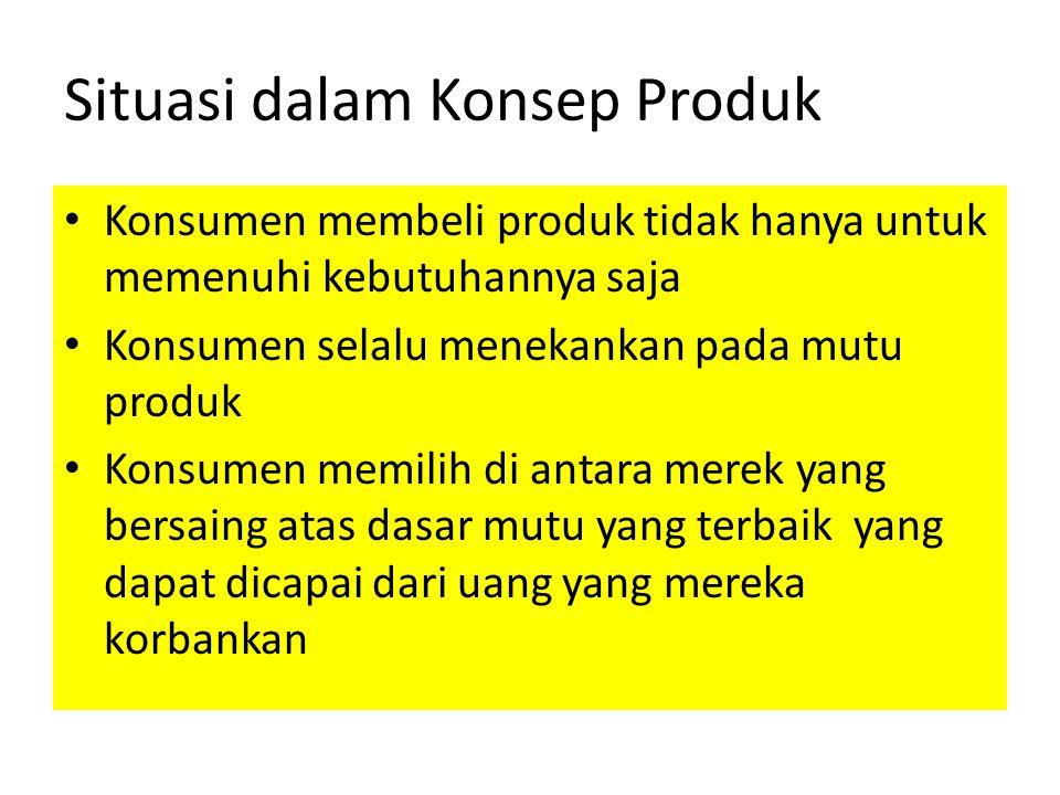 Situasi dalam Konsep Produk