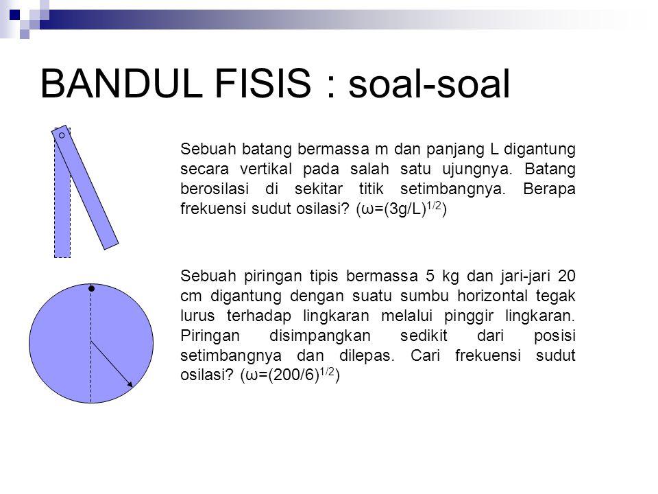 BANDUL FISIS : soal-soal