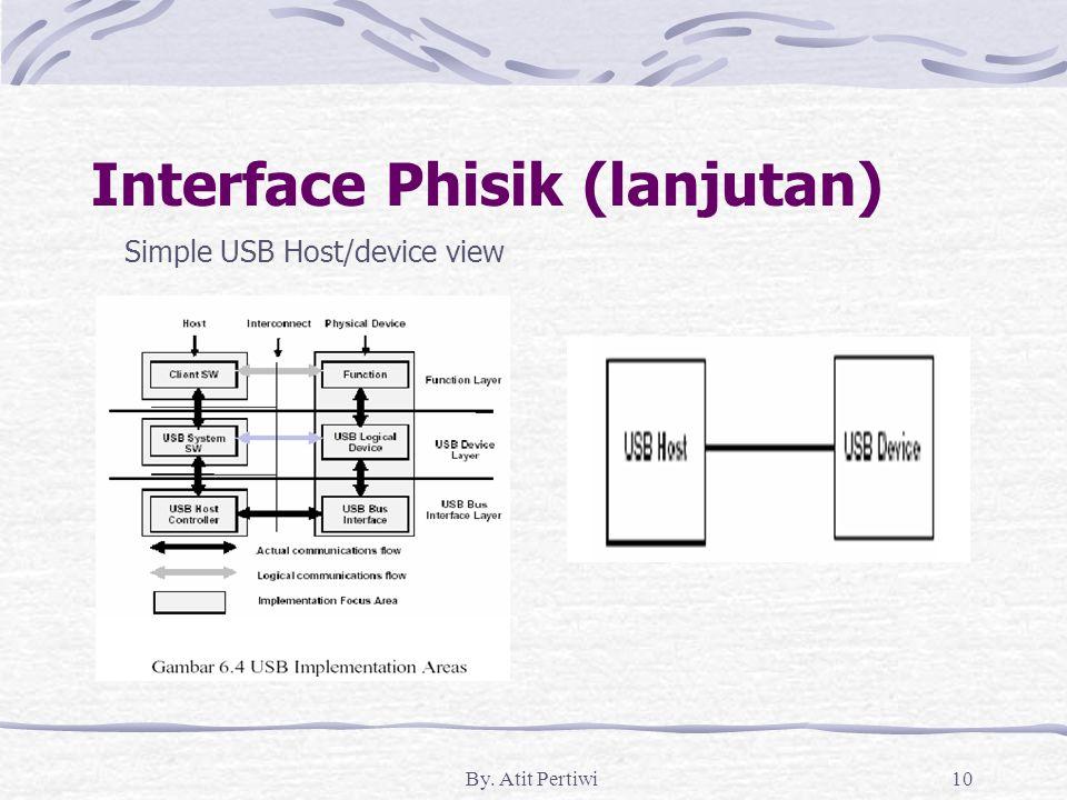 Interface Phisik (lanjutan)