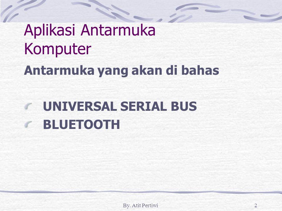 Aplikasi Antarmuka Komputer