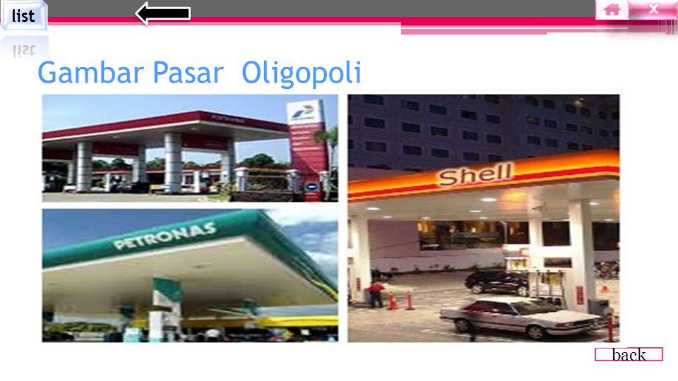 Gambar Pasar Oligopoli