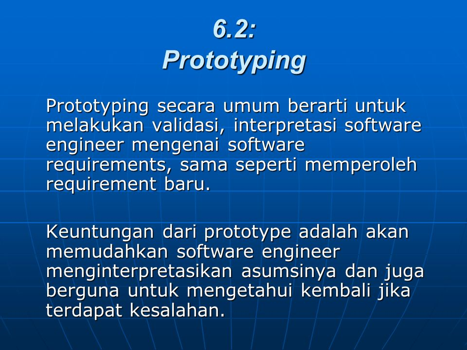 6.2: Prototyping