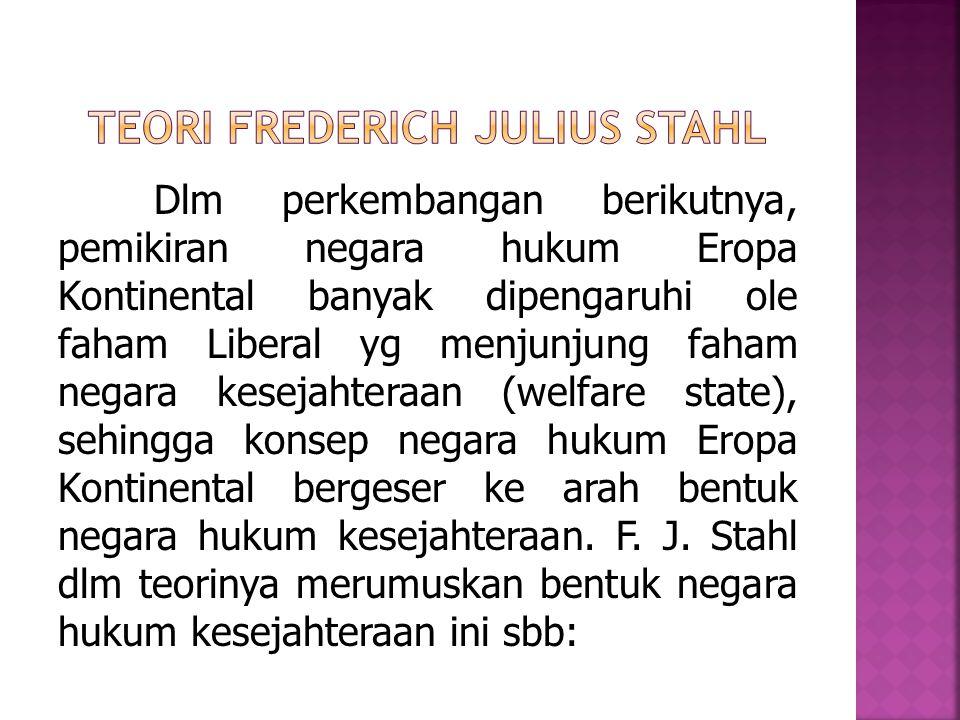 Teori Frederich Julius Stahl