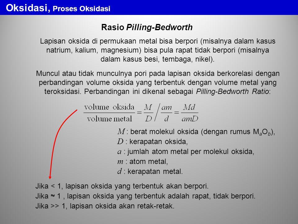 Oksidasi, Proses Oksidasi