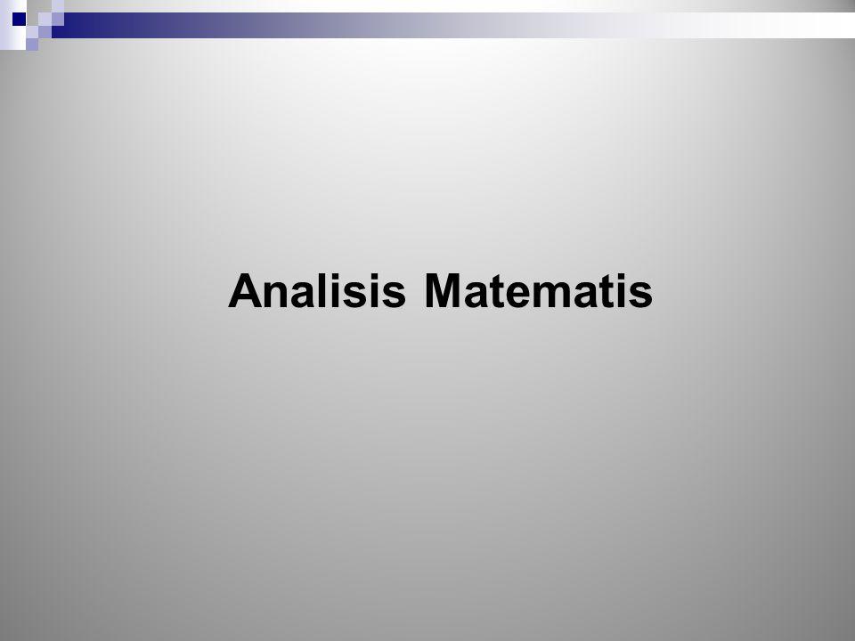 Analisis Matematis