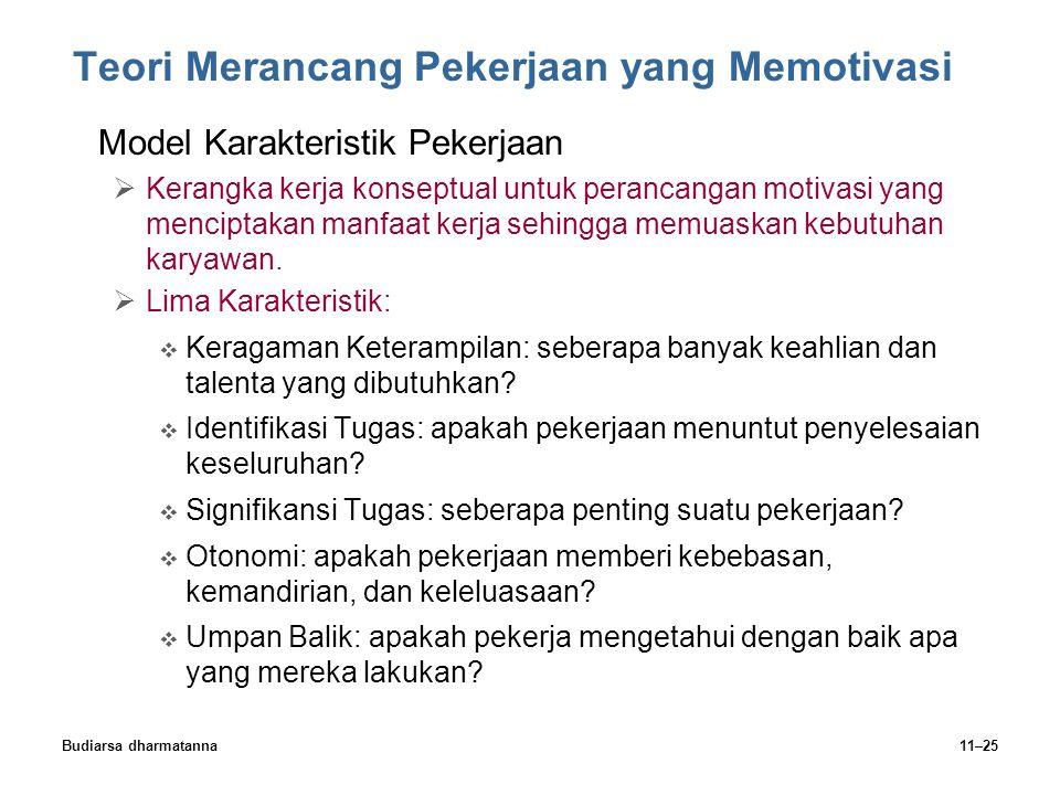 Teori Merancang Pekerjaan yang Memotivasi