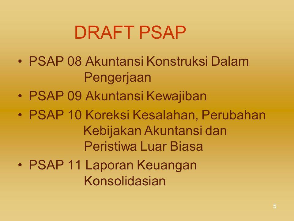 DRAFT PSAP PSAP 08 Akuntansi Konstruksi Dalam Pengerjaan