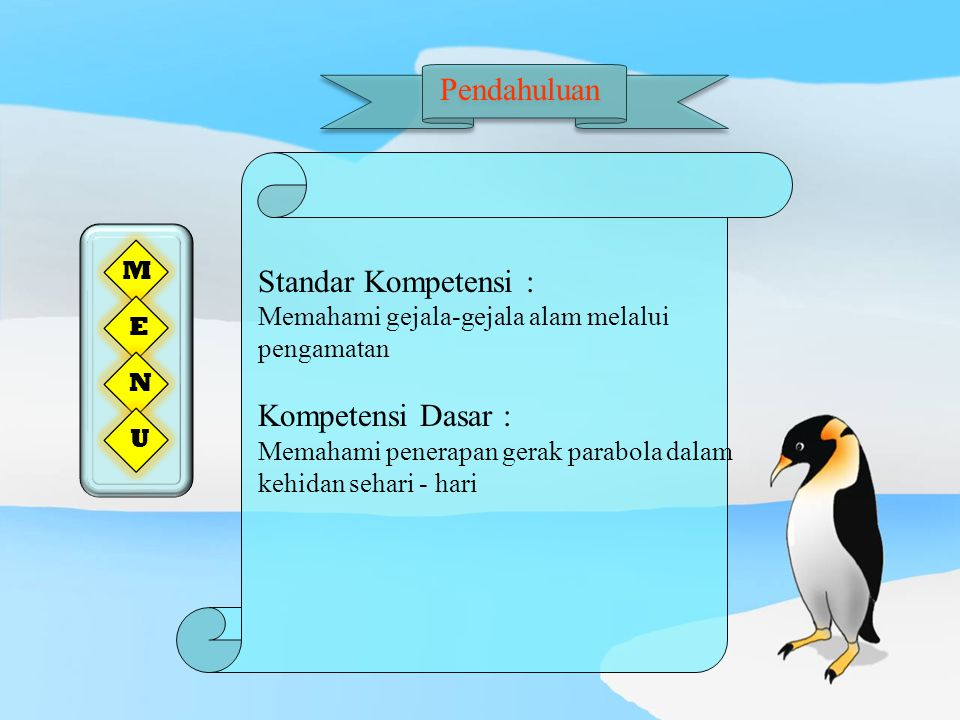 Pendahuluan Standar Kompetensi : Kompetensi Dasar : M