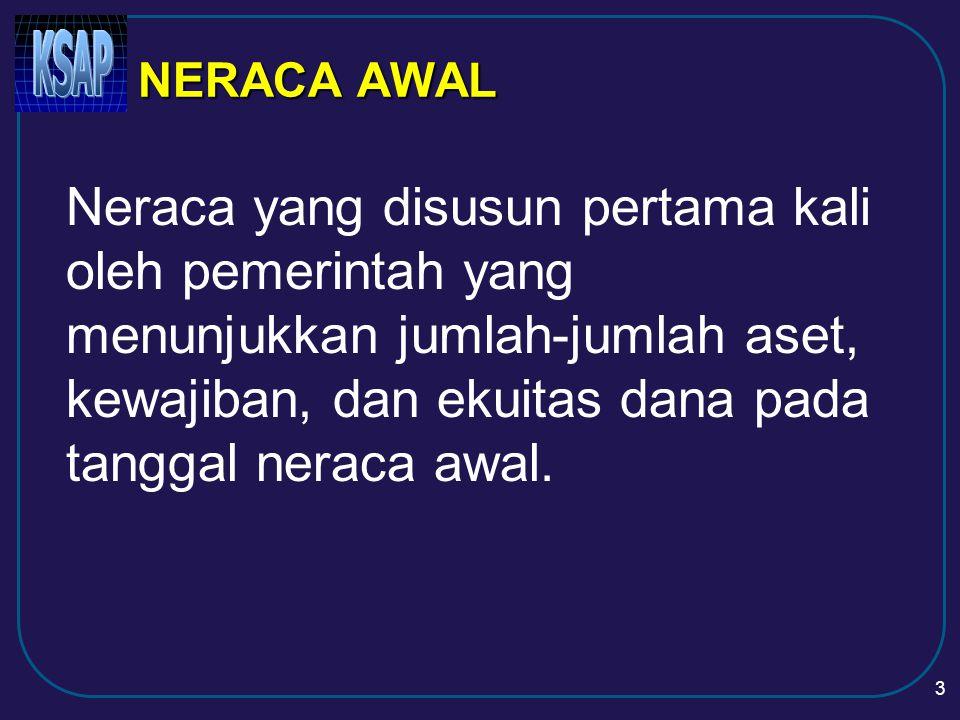 NERACA AWAL