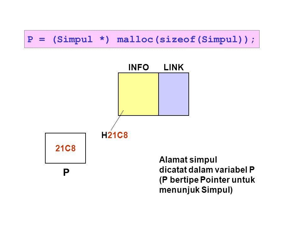 P = (Simpul *) malloc(sizeof(Simpul));