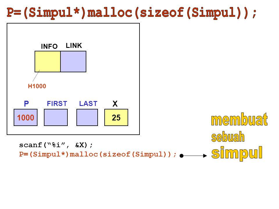 P=(Simpul*)malloc(sizeof(Simpul));