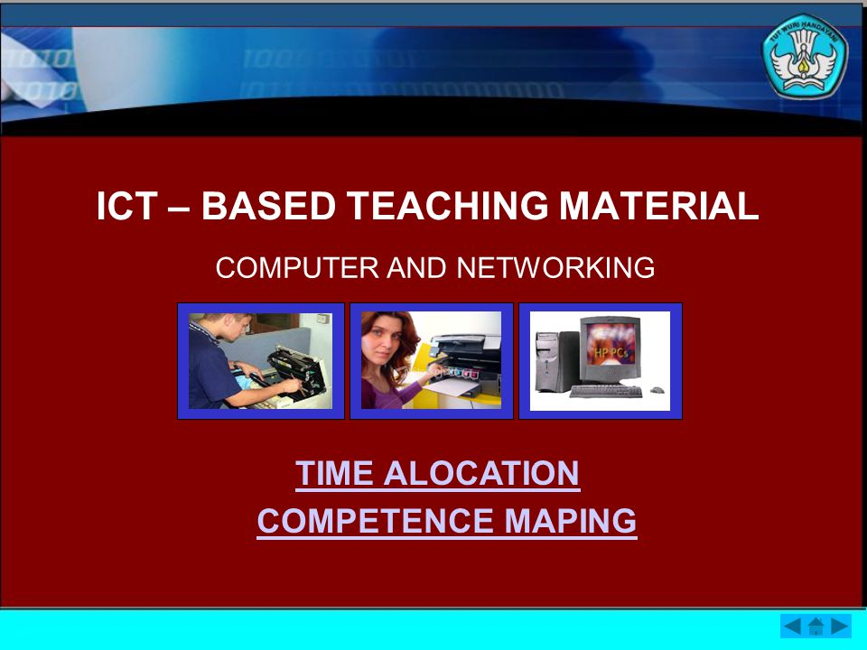 ICT – BASED TEACHING MATERIAL