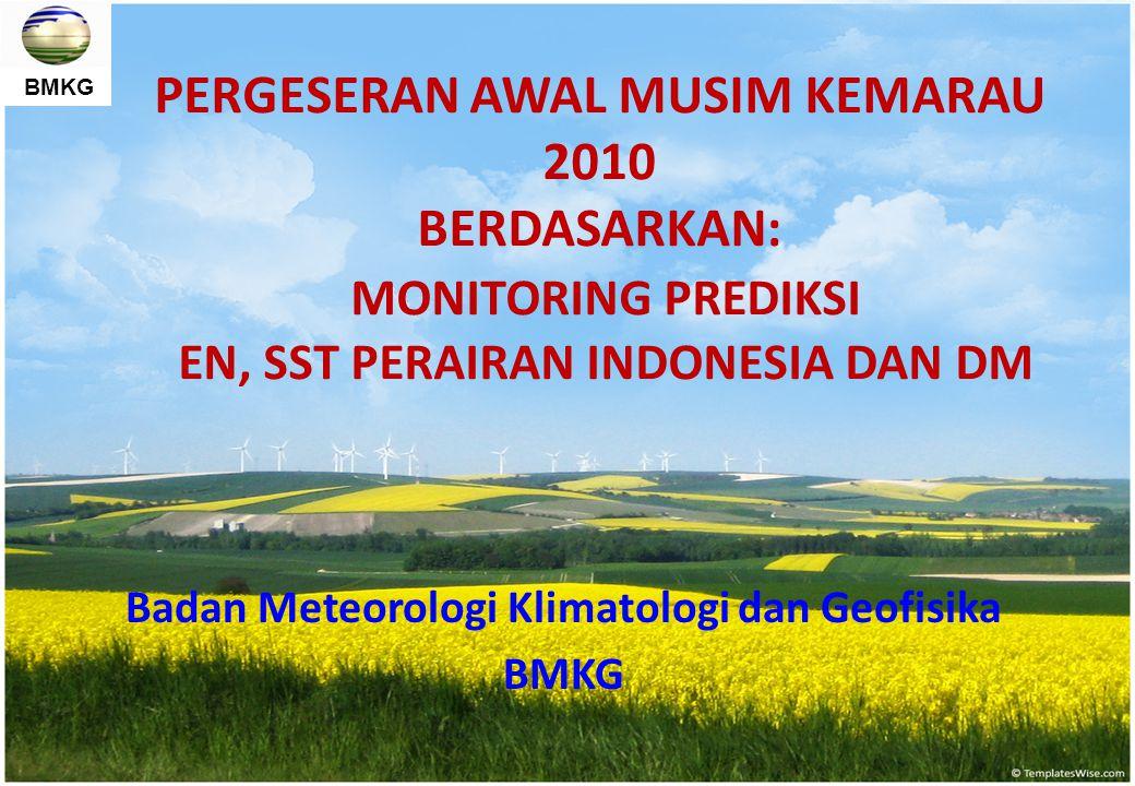 Badan Meteorologi Klimatologi dan Geofisika BMKG