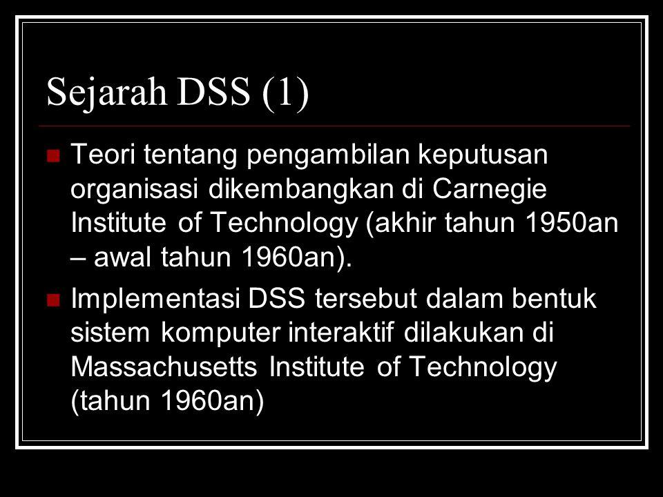 Sejarah DSS (1)