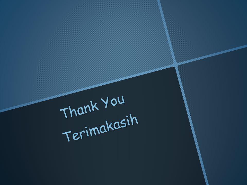 Thank You Terimakasih