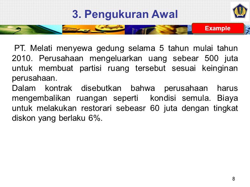 3. Pengukuran Awal Example.