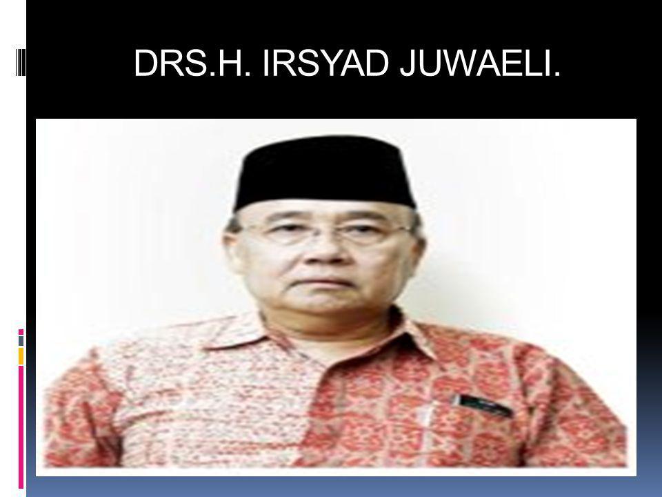DRS.H. IRSYAD JUWAELI.