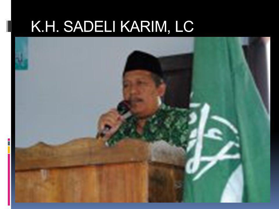 K.H. SADELI KARIM, LC