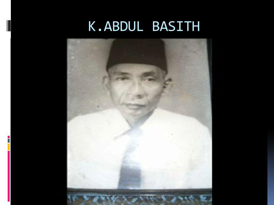 K.ABDUL BASITH
