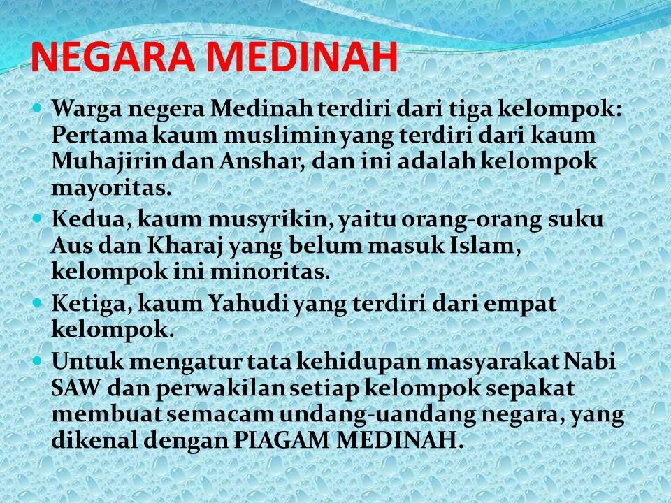 NEGARA MEDINAH