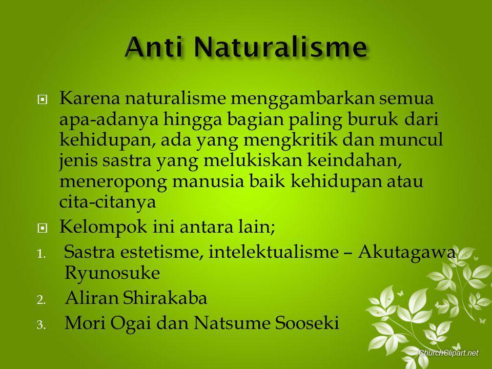 Anti Naturalisme
