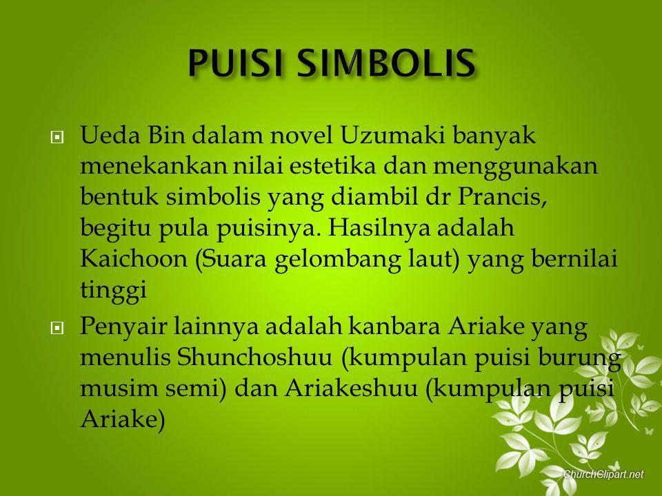 PUISI SIMBOLIS