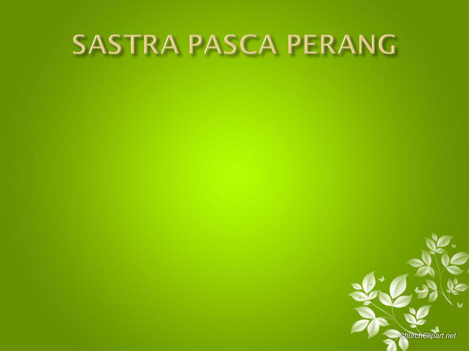 SASTRA PASCA PERANG