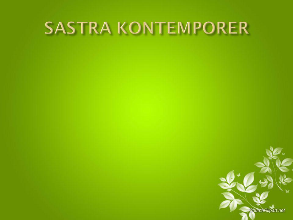 SASTRA KONTEMPORER