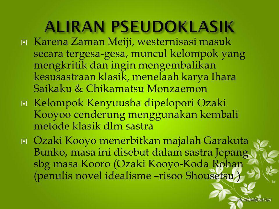 ALIRAN PSEUDOKLASIK