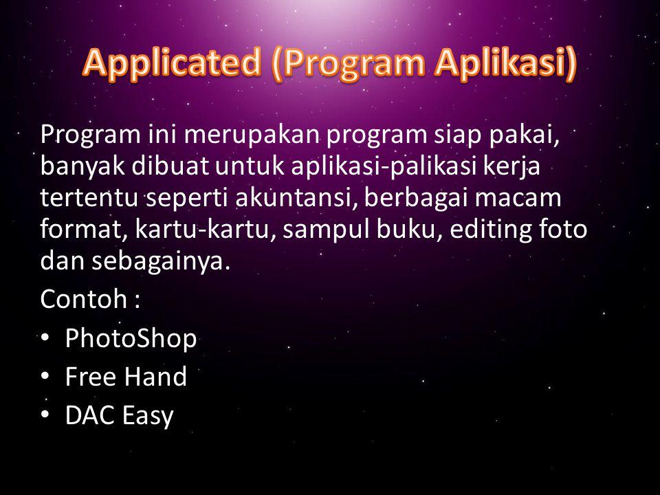 Applicated (Program Aplikasi)