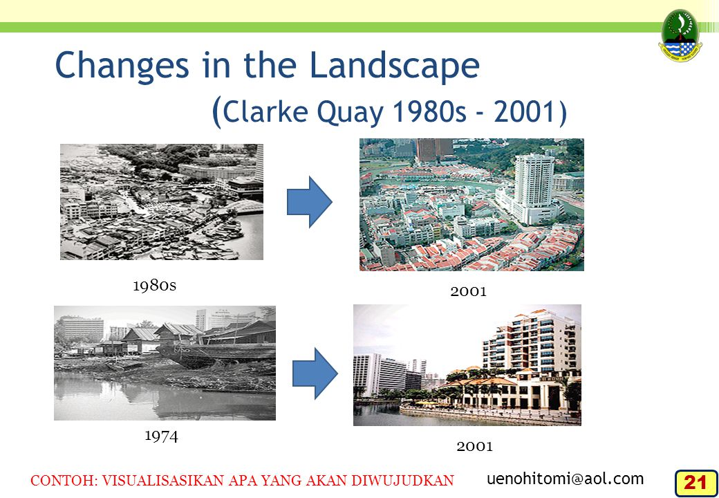 Changes in the Landscape (Clarke Quay 1980s - 2001)