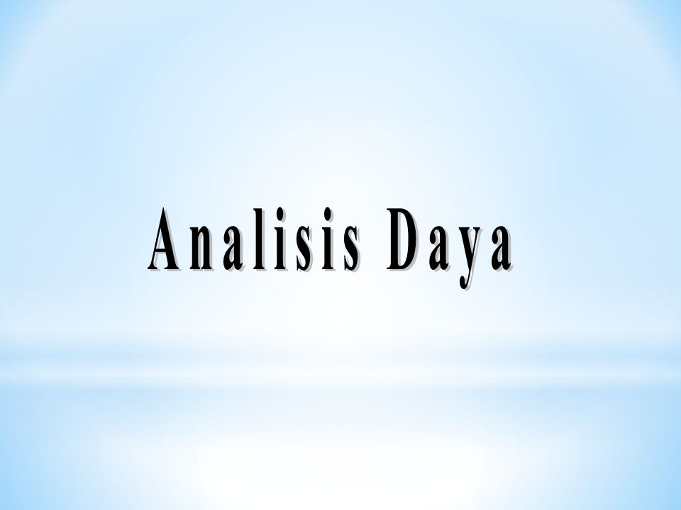 Analisis Daya