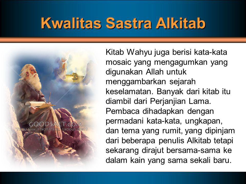 Kwalitas Sastra Alkitab