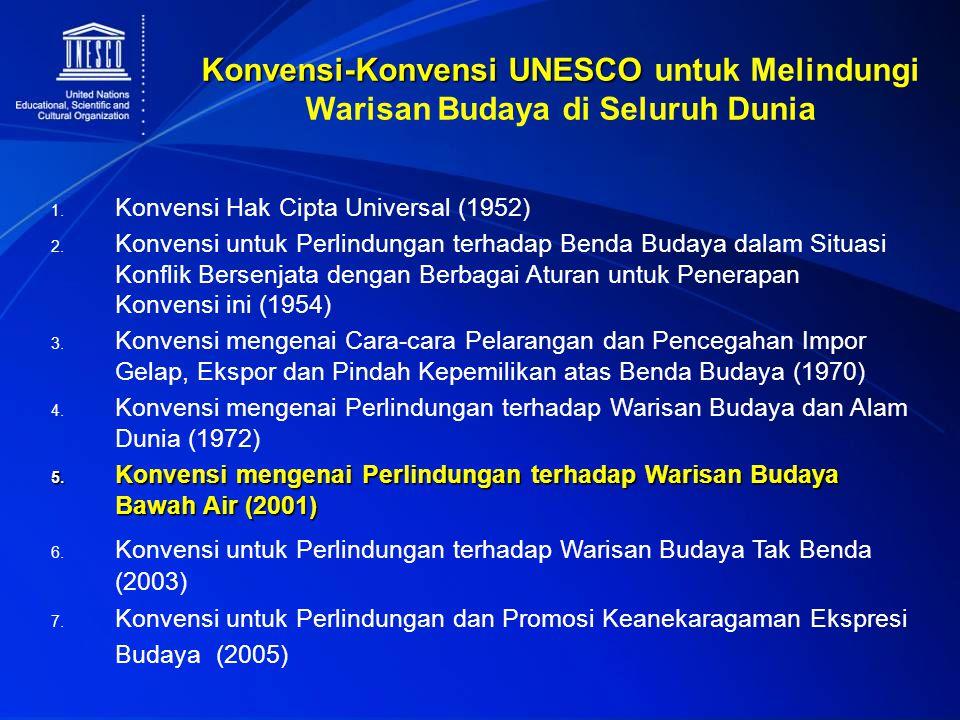 Konvensi-Konvensi UNESCO untuk Melindungi Warisan Budaya di Seluruh Dunia