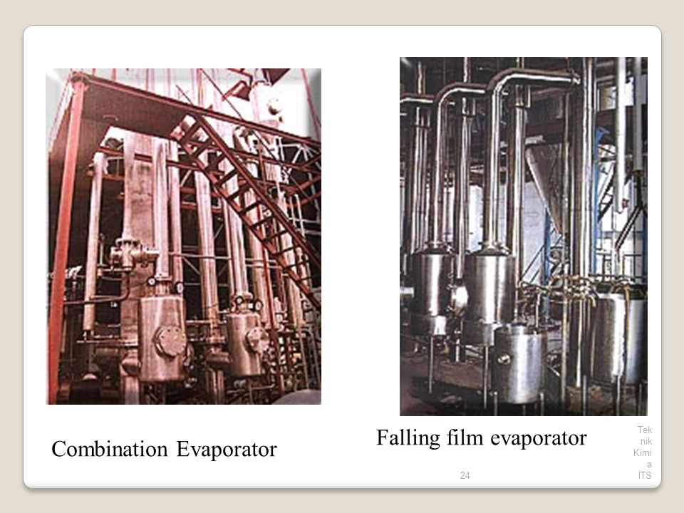 Falling film evaporator Combination Evaporator