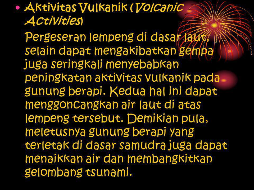 Aktivitas Vulkanik (Volcanic Activities)