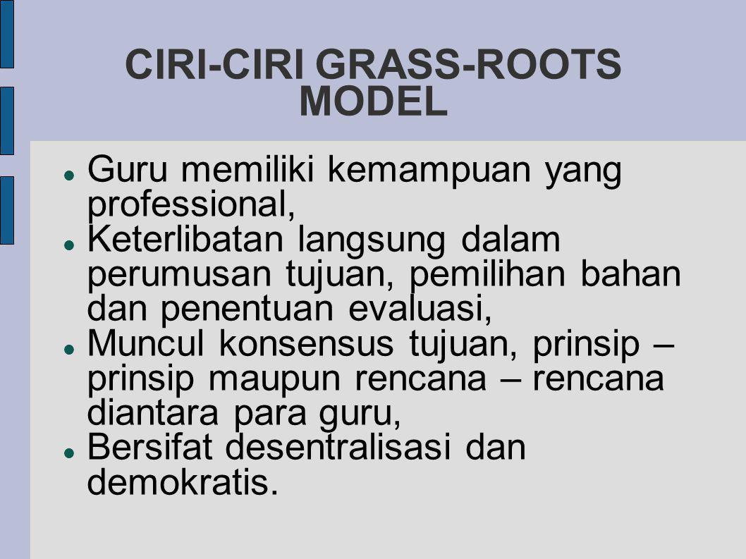 CIRI-CIRI GRASS-ROOTS MODEL