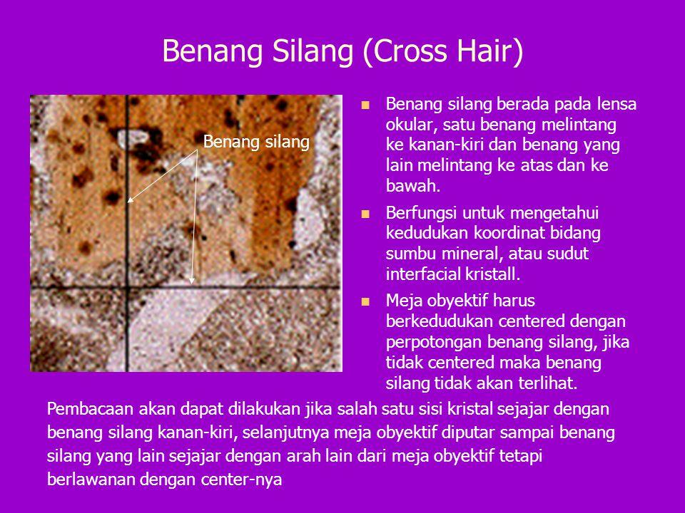 Benang Silang (Cross Hair)