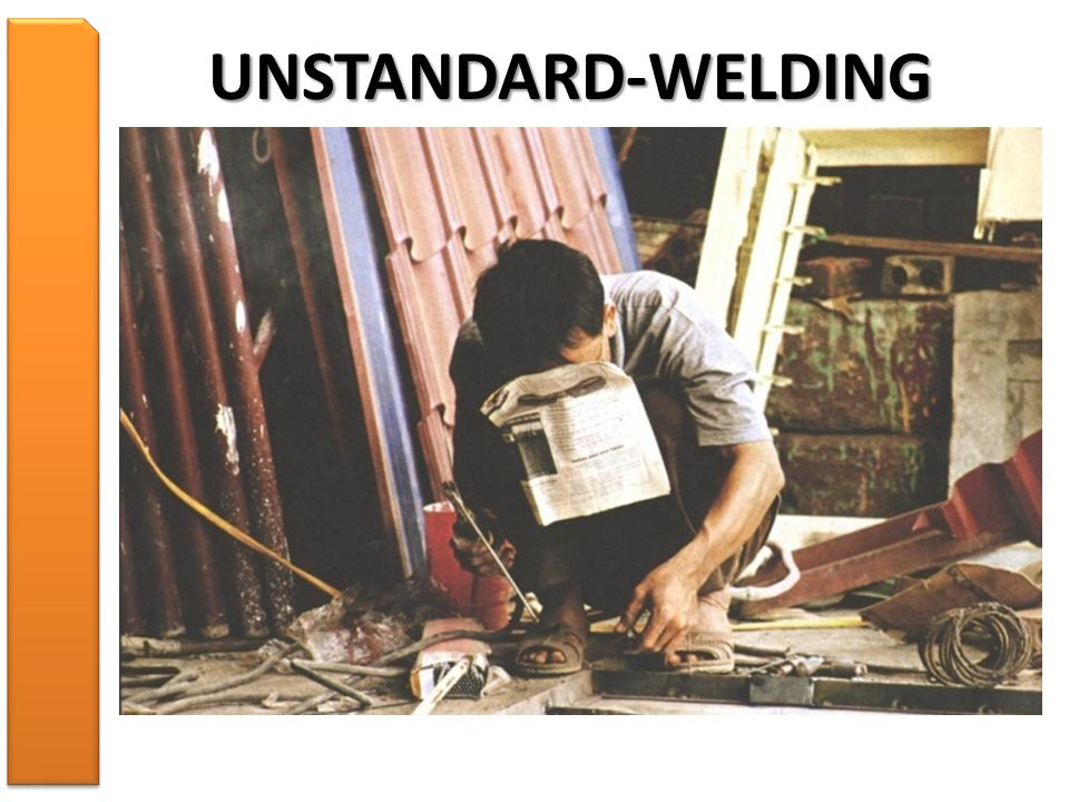UNSTANDARD-WELDING