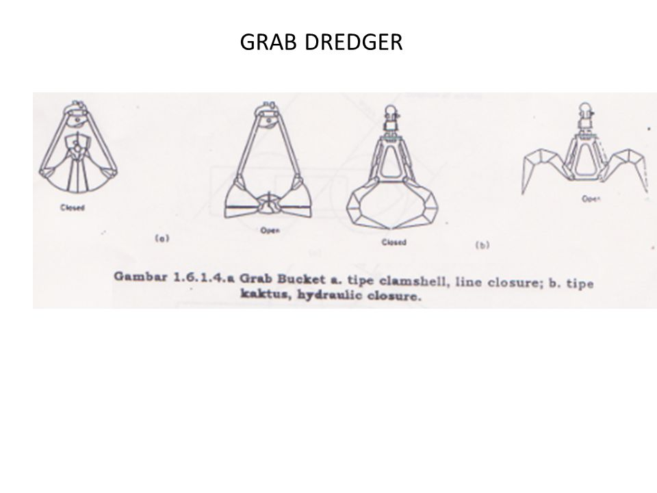 GRAB DREDGER