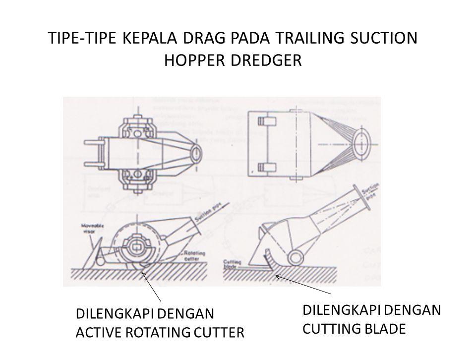 TIPE-TIPE KEPALA DRAG PADA TRAILING SUCTION HOPPER DREDGER